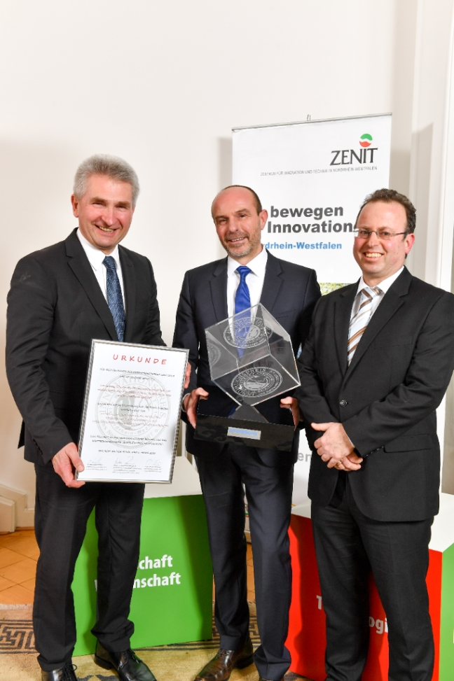 Netzwerk ZENIT e.V. vergab Innovationspreis