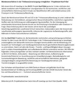 Pressemitteilung KonTriSol