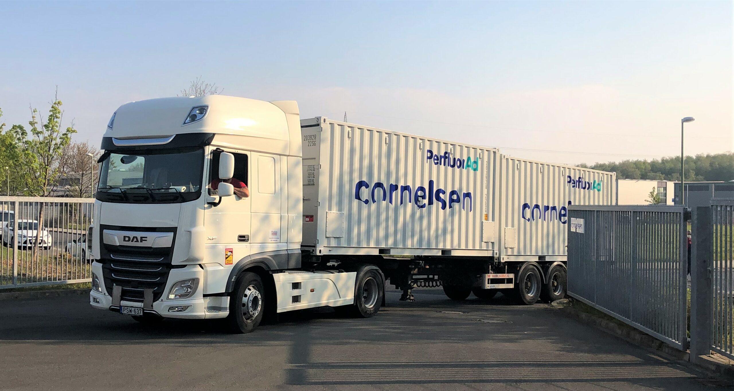 Im April 2021 wurde von Cornelsen eine erste Anlage in die USA ausgeliefert.